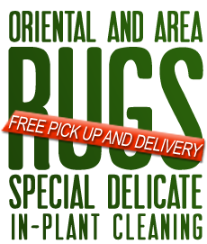 rug cleaning free pick up and delivery